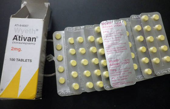 Ativan- facts related to overdose